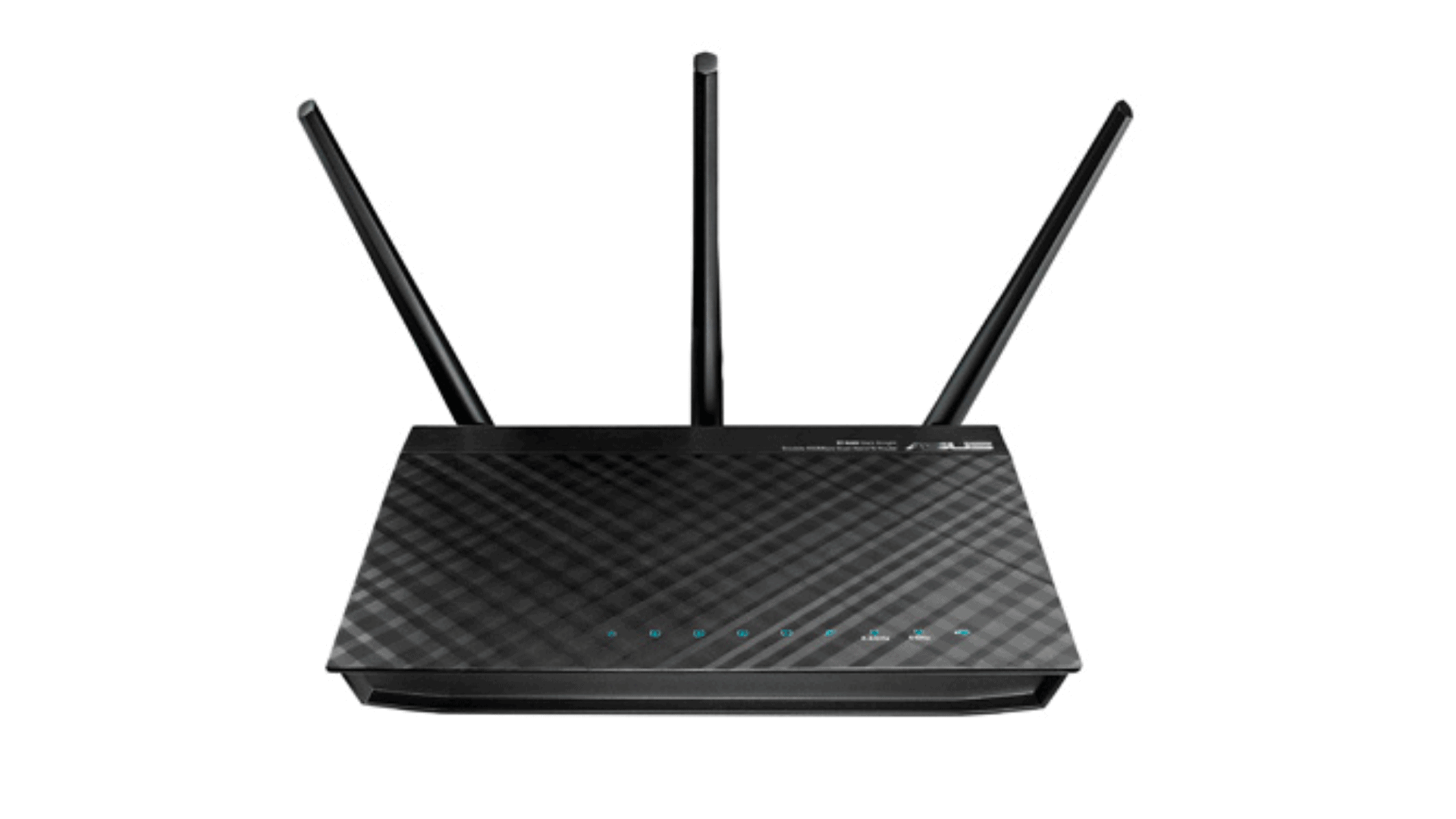 Asus RT-N66U Router with three antennas