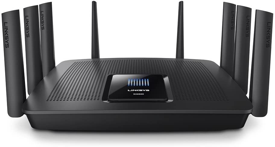 Linksys EA9500 Tri-Band Wifi Router for Home