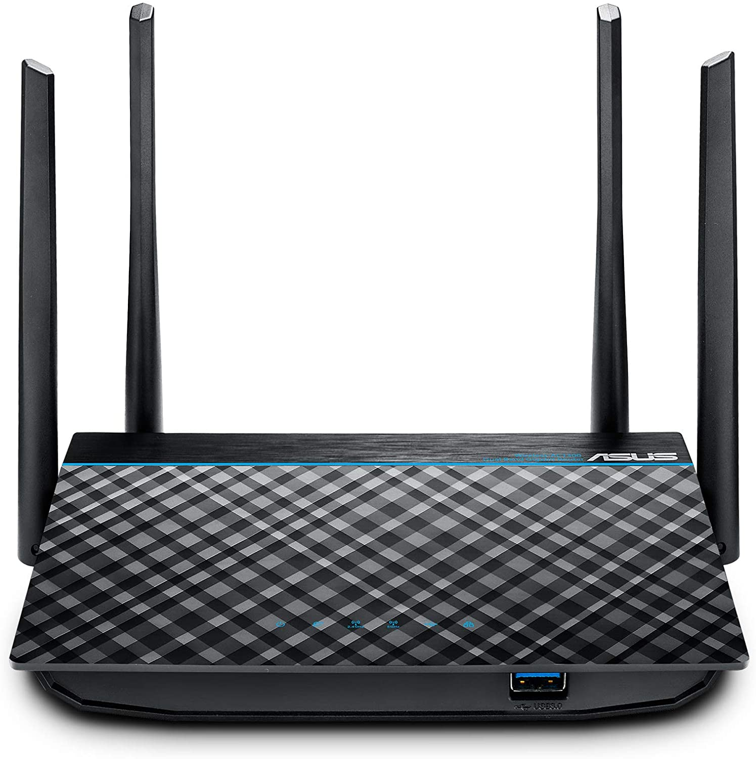 ASUS Dual-Band 2x2 AC1300 Super-Fast WiFi 4-Port Gigabit Router