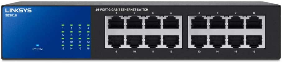 Linksys LGS116P Business 16-Port Network Switch