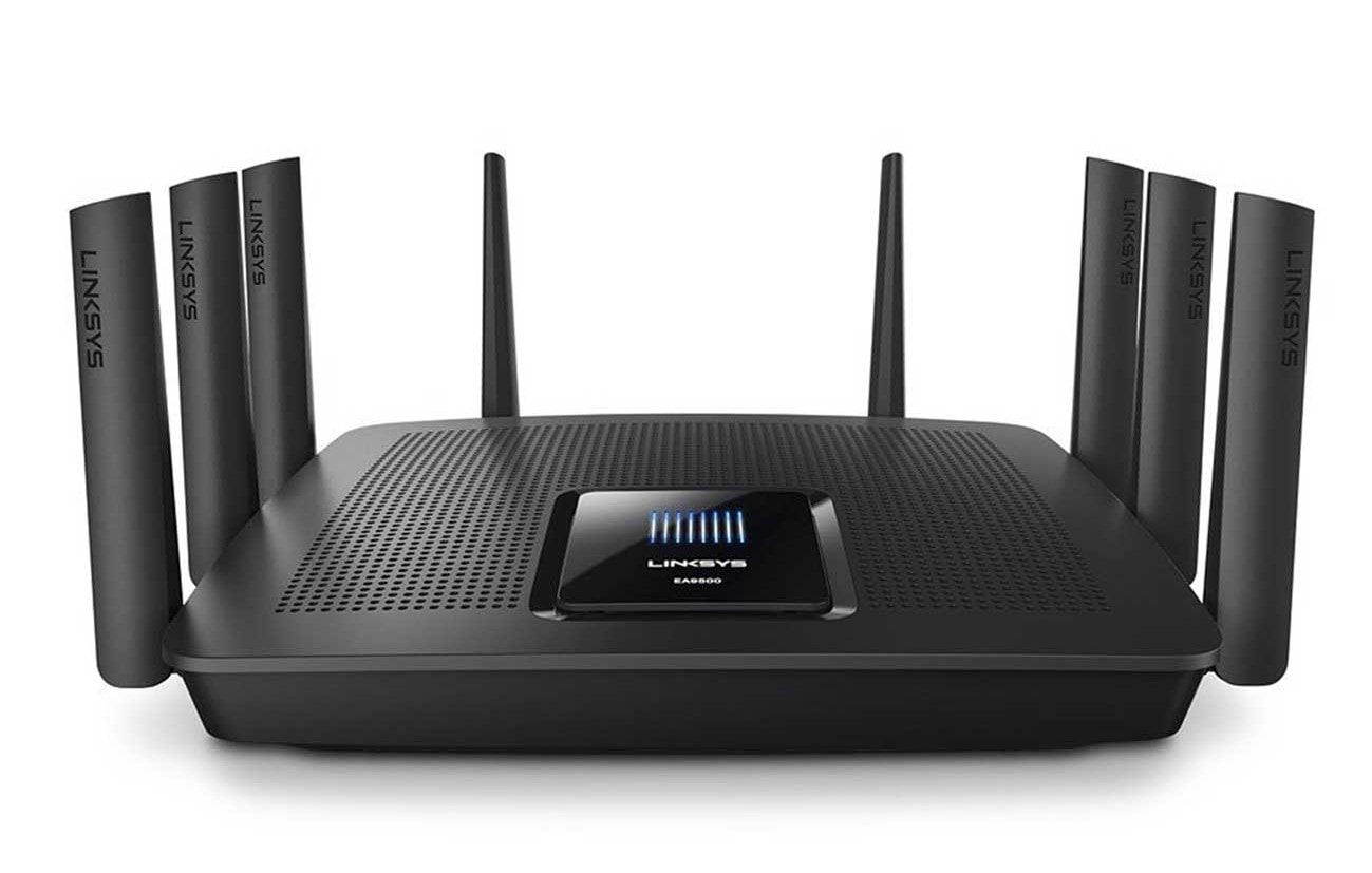 linksys ac5400 tri-band wireless router