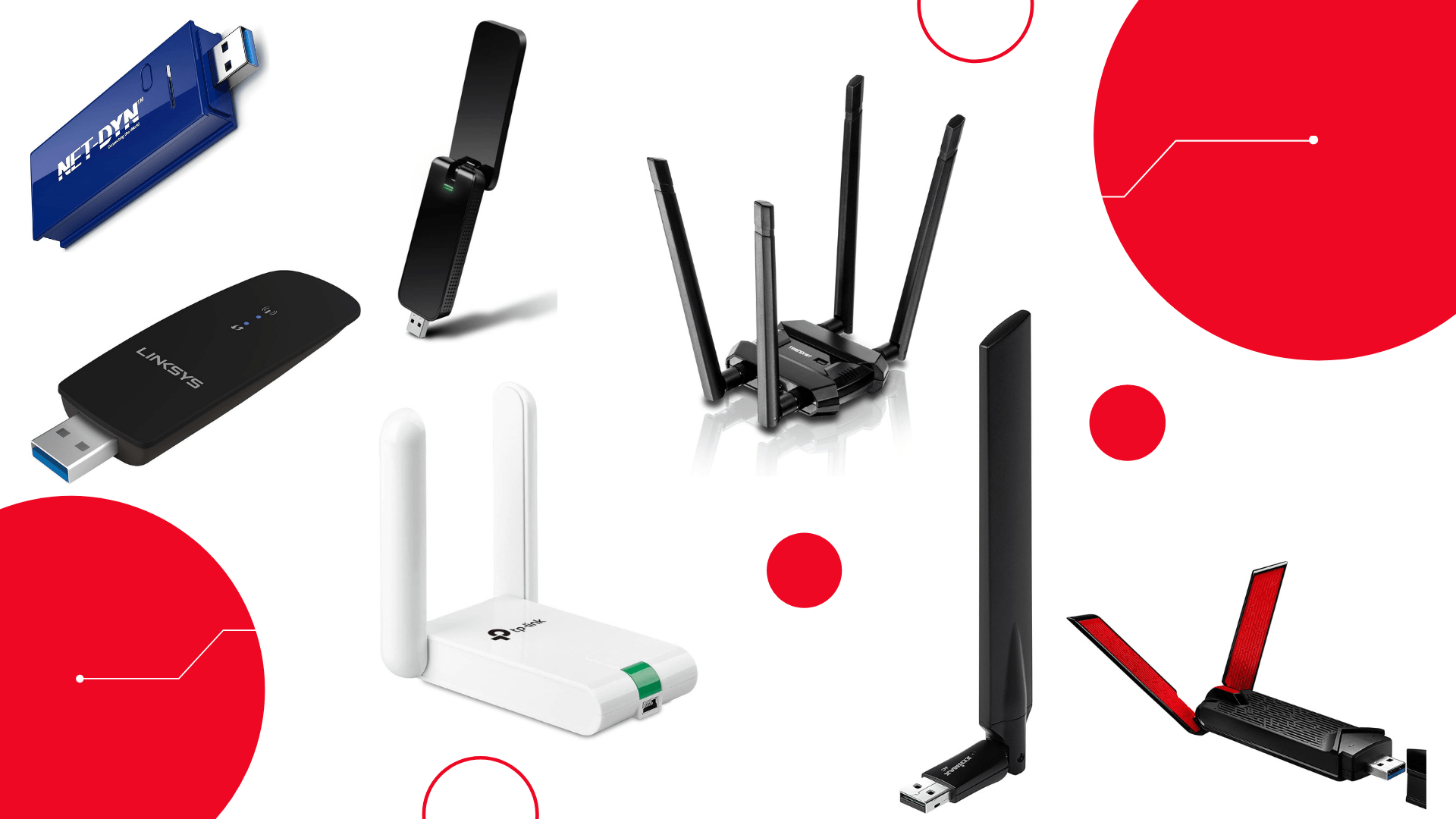 Some of the best USB WiFi adapters out in the market