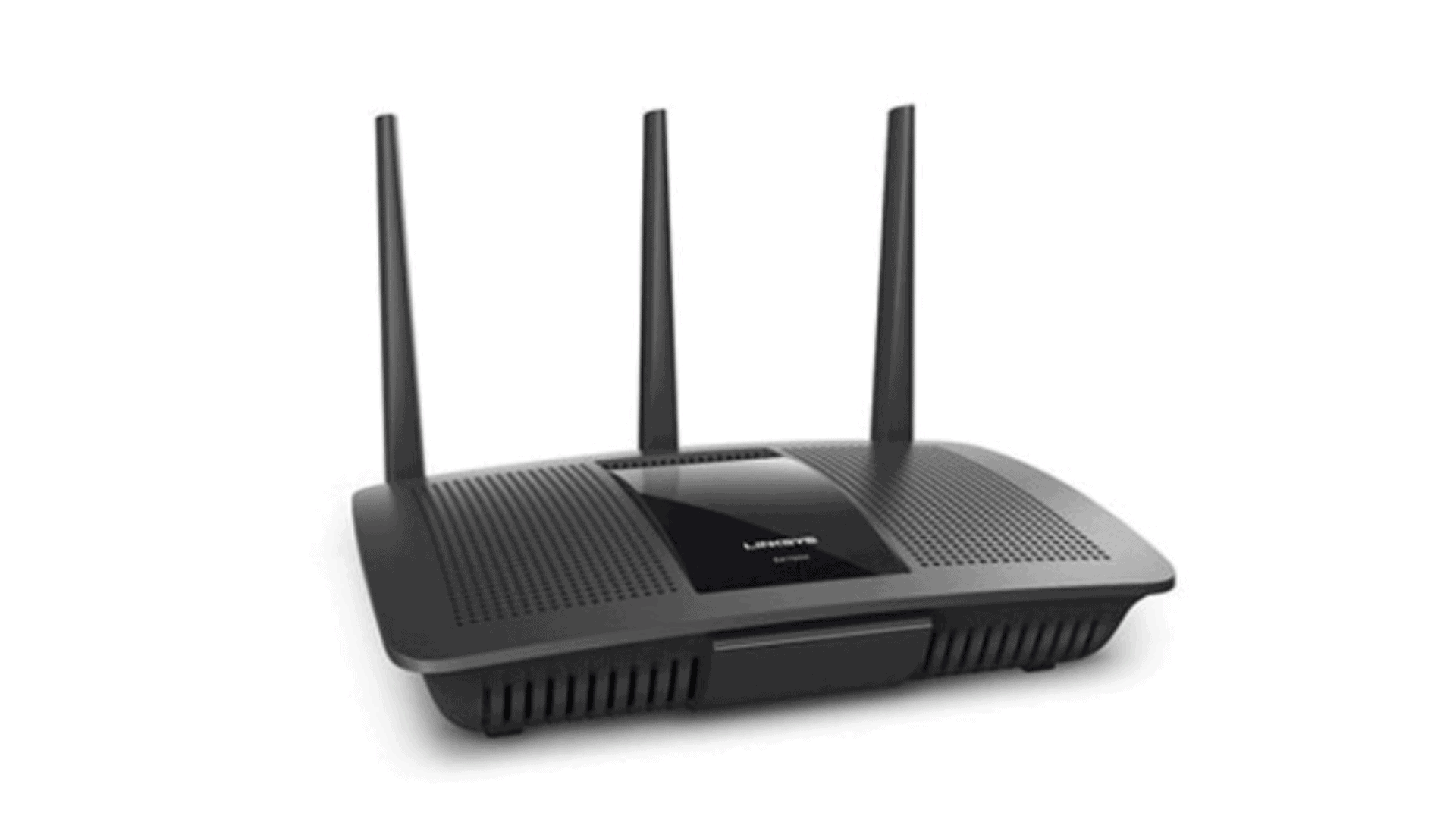 Linksys EA7500 WiFi Router with three antennas
