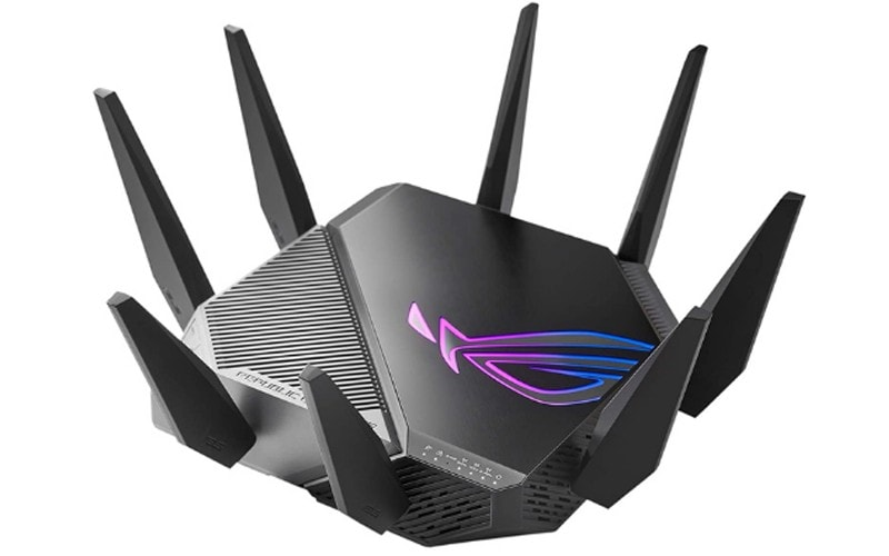 ASUS ROG Rapture Wi-Fi 6E Gaming Router GT-AXE11000
