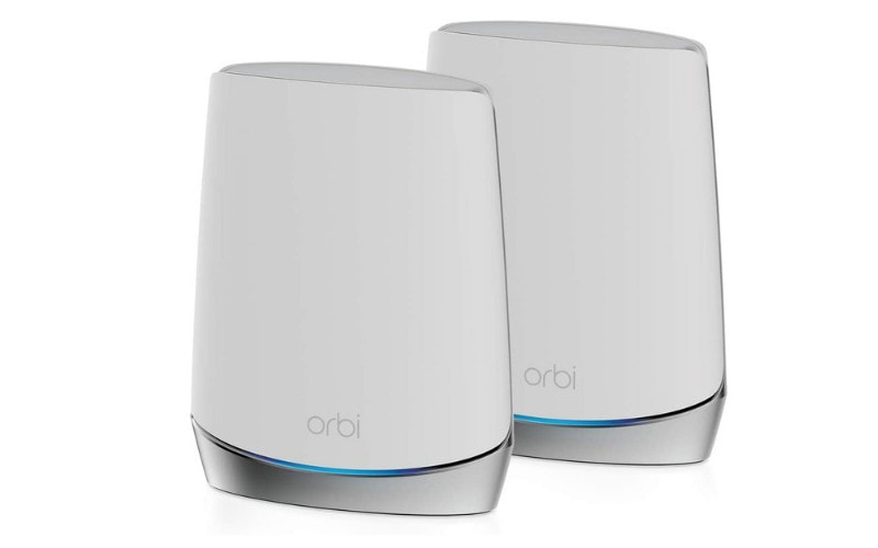 Netgear Orbi RBK752 Whole Home Tri-band Mesh WiFi 6 System Router